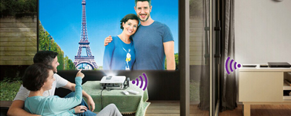 家用界的iPhone 6 明基无线家用投影机W1075评测