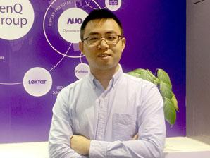专访明基刘汉清:教育市场未来在激光投影机