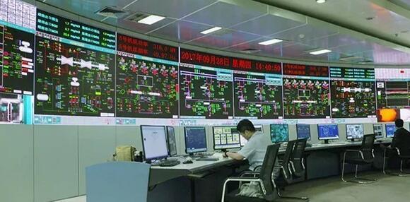 联建光电小间距LED显示屏助力深能妈湾电厂信息化建设