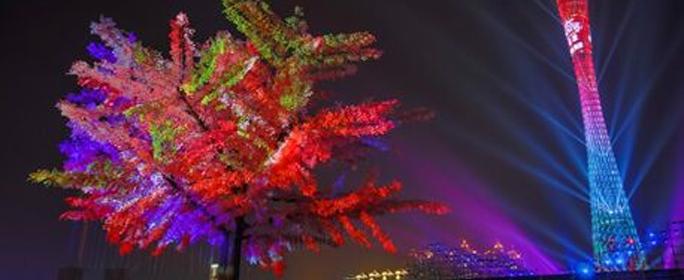 """被誉为""""世界三大灯光节之一""""的2017年第七届广州国际灯光节于近日盛大开幕。本届广州国际灯光节,Vivitek(丽讯)作为指定投影品牌,其中18,000流明激光工程齐乐娱乐新品DU9800Z在广州国际灯光节亦上演""""首秀"""""""