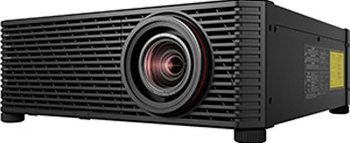 """2017年12月18日,佳能(中国)有限公司(以下简称""""佳能(中国)"""")正式发布旗下首款支持4K (4096×2400像素) 超高分辨率的 4K LCOS激光工程投影机新品4K600STZ。"""