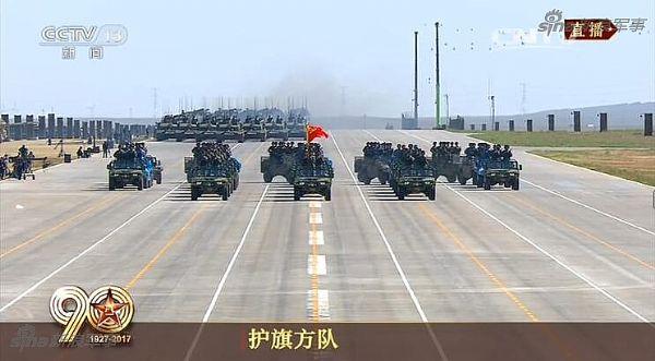 强军路上,中国显示为你加油