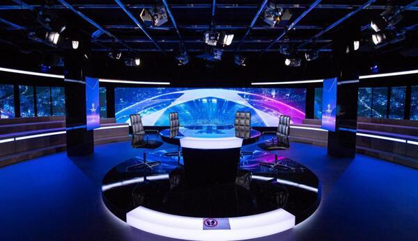 聯建光電LED小間距顯示系統閃耀瑞士電視臺800㎡演播廳