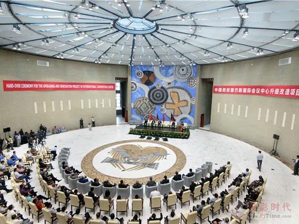 【在巴新国际会议中心】CREATOR快捷为APEC峰会护航