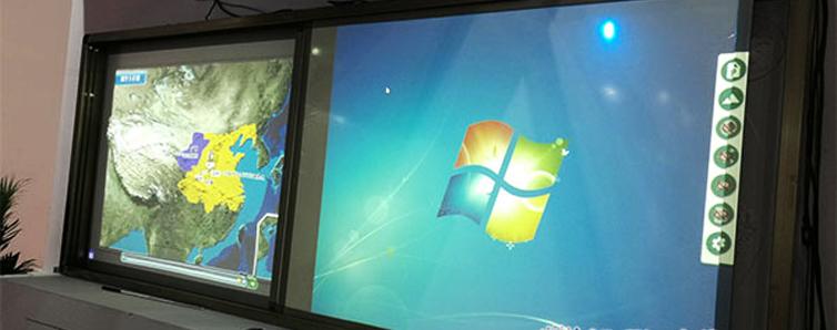 第30屆(2019年)北京教育裝備展,羿飛展出了多款地理專用教室常用的核心教學設備,從巨屏影像播放的示教系統,到白板、立體地形、PPT、FLASH動畫多合一的數字立體地形......