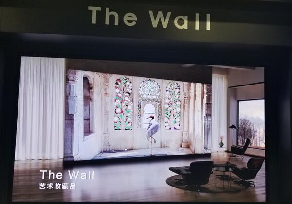 透過The Wall看下一代LED,三星顯示新品顛覆墻面