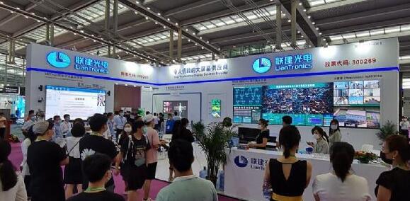 """聯建光電小間距""""燃""""爆第十七屆深圳國際LED展"""