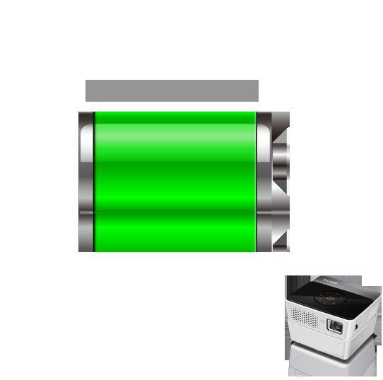 LED无线微型投影机GP3 电池